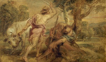 Peter Paul Rubens : Mercurius en Argus