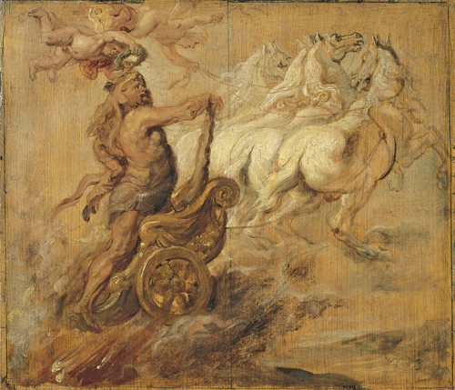 Peter Paul Rubens : De apotheose van Hercules