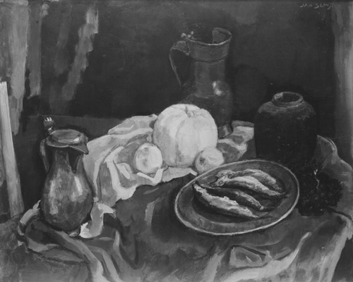 Jan Sluijters : Nature morte aux harengs