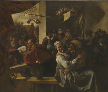 Jan Havicksz. Steen : De rederijkers -