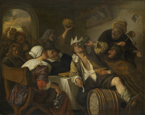 Jan Havicksz. Steen : Driekoningenfeest