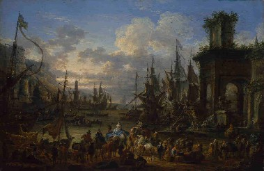 Jan Baptist van der Meiren : De haven