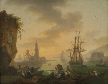 Joseph Vernet (repliek) : De haven