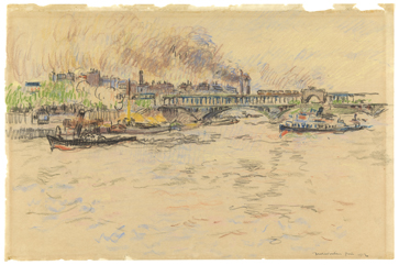 Rik Wouters : De Seine in Parijs