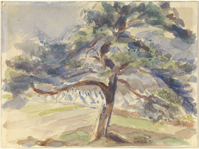 Rik Wouters : Le grand sapin. Vue du camp de Zeist